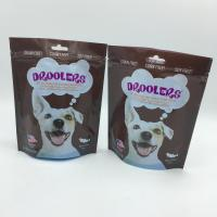 zip lock food packaging compound plastic bags , dog packaging bag