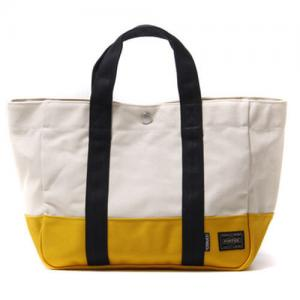 China White Monogrammed Custom Canvas Tote BagsFor Ladies 46 * 36 * 10 cm on sale