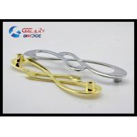 Musical Note Fashion Zinc Cupboard Handles GL6631 Luxury  Gold Plated 128mm Closet Pulls