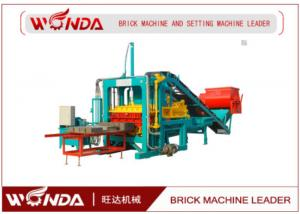 China Mobile Cement Concrete Block Making Machine / Brick Making Machines 16Mpa Pressure on sale