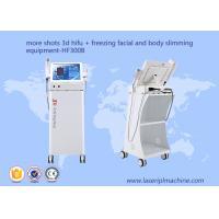 China more shots 3D hifu + freezing facial and body lifting shaping machine on sale