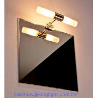 China chrome bathroom light fixtures on sale