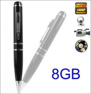 China Hidden Camera   1080P PEN Video Recorder camera 8GB mini hidden Pen Camera pen DVR Camcord on sale