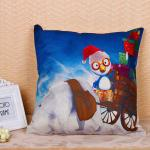 Colorful Decorative Pillow Covers Square Shape 45 * 45cm With Custom Logo