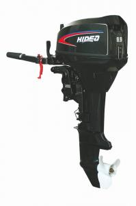 China 9.9 HP 2 Stroke Outboard Motor 2 Cylinder 4500 rpm Remote Control on sale