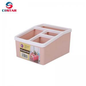 China Plastic table storage organizer pp plastic multi-function storage box container on sale
