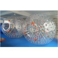 Transparent Inflatable Zorb Ball , Inflatable Human Bowling Ball For Grass / Snow Land