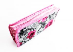 China High Capacity Pencil Pouch Bag Cute Printing Polyester Nylon For Gift Pencil Box on sale