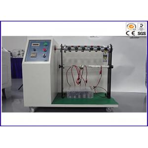 China 10 - 60/min Wire Fatigue Testing Machine , Wire Swing Durability Testing Machine on sale