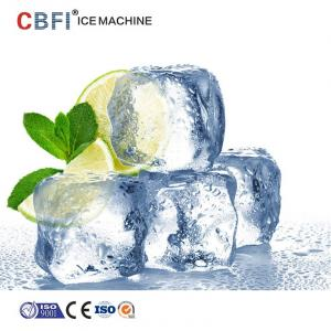 China 10 Tons Commercial Ice Cube Machine With Germany Bitzer ISO on sale