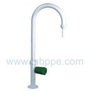 Quality SHA5-Single Way Lab Tap/Faucet,360 swing,304Stainless Steel,white / grey color for sale