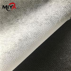 China 50 Percent Polyester 25gsm 90cm Non Woven Interlining Fabric on sale