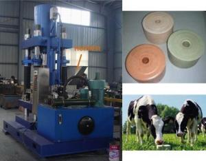 China cow salt licking brick making machine on sale