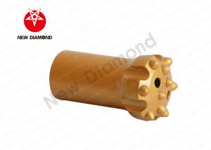 China Small Retrac Ballistic Button Bits Drilling Rig Tools T38 / R38 Color Customized on sale