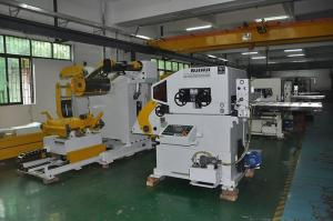 China Roller Feeder Equipment Decoiler And Straightener Metal Coil Material Stamping on sale