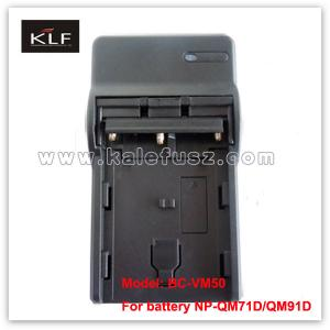 China Camera Charger VM50 for Sony camera battery QM91D on sale
