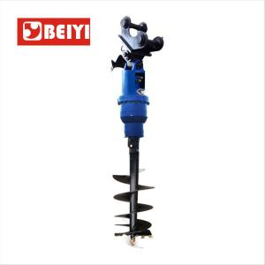 China Excavator Mounted Hydraulic Earth Drill/Earth Drilling Equipment For Sale on sale
