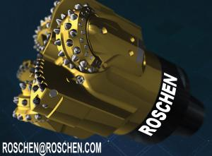 China Diameter 190mm Tricone Drill Bit Kymera Hybrid With Thread Female / Box 4 1/2 API REG on sale