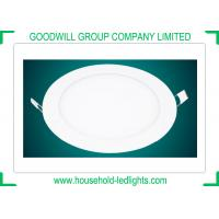 RA 80 12W Round LED Panel Light , No UV Radiation LED Panel Ceiling Lights