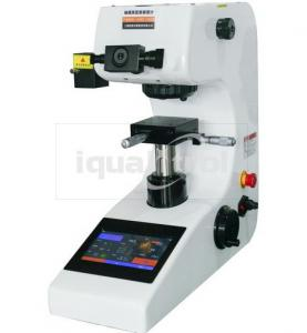 China Analog 10X Microscope Touch Screen Micro Vickers Hardness Tester with Error Compensation on sale