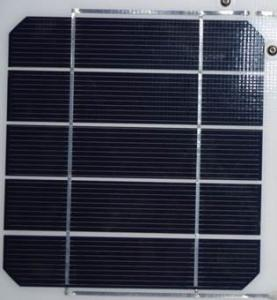 China 156mm*31.2mm 4.5w monocrystalline solar cell with high efficiency 19.0% on sale