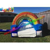 China Big Backyard Outdoor Inflatable Water Slides Backyard Inflatable Slip N' Slide on sale