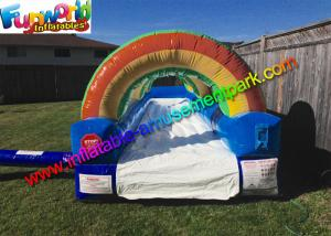 China Big Backyard Outdoor Inflatable Water Slides Backyard Inflatable Slip N' Slide on sale