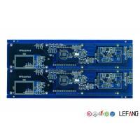 Blue Solder Mask Fr4 Copper Clad Circuit Board , Timer PCB Board Lightweight
