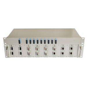 China 2U CWDM Fiber Optic Mux DEMUX with CLI WEB Telnet Management on sale