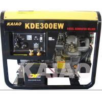 China 12.5L Fuel Tank  Diesel Engine Welding Machine 60hz 3.2kva CE ISO Certification on sale