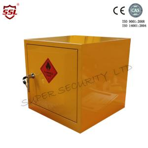 China Metal Mini Portable Hazardous Storage Cabinet Anti-fire Solid Seam Welded Cabinet on sale