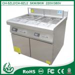 deep fryer oil filter machine 800*800*920MM with 5kw