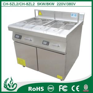 China Friteuse profonde de friteuse de N.W 110KG d'induction profonde de machine avec 8kw on sale