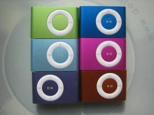 China 2GB 4GB 5GB 6GB Stylish design clip shape portable Mini Clip MP3 Player with USB 2.0 on sale