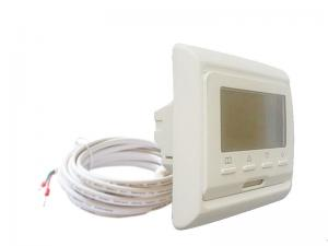 China 50/60HZ Wall Mounted Heated Floor Thermostat HVAC Systems CE RoHS Listed on sale