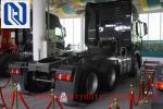 10 Wheel Sinotruk Tractor Truck WD615.96E Engine 6x4 371hp Howo Tractor Head