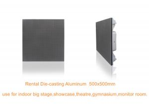 China 3.91 SMD Led Display Cabinet Die Casting Aluminum Rental indoor led display screen on sale