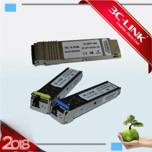 China 80km 2.5G Single Mode SFO Fiber Optic Transceiver / Gbic CWDM SFP Transceiver Module on sale