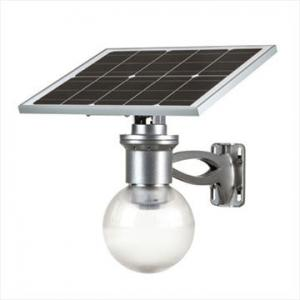 China 9W Solar energy Garden yard LED light with lithium battery on sale
