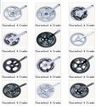 Chainwheel&crank велосипеда
