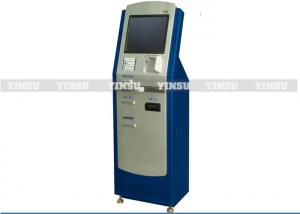 China Metal Self Service Payment Kiosk 80mm Thermal Printer Foreign Currency Exchange on sale