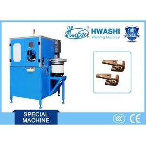 China WL-T-AC100K Full Automatic Silver Contact Assembly and Welding Machine on sale