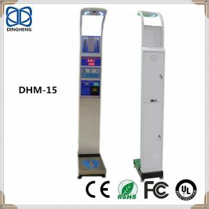 China DHM-15 measurement scale for Body Fat MBI Height and weight scales with coin slot measuring medical machine on sale