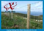 Customized Size / Color Galvanized Field Fence No Sharp Edge 2.0mm