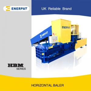 China Hydraulic Horizontal Cardboard Baling Machine with UK Brand on sale