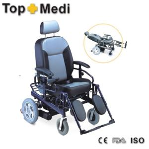 China Aluminum Electric Mobility Wheelchair with optional Elevating Leg Rests on sale