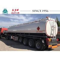 China ADR Standard Fuel Tanker Trailer 45000 Liters Capacity With Airbag And Lifting on sale