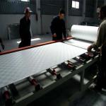 Certificação do CE da máquina da laminação do filme da placa de gipsita