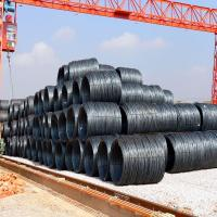 China MS steel wire rod / hot rolled wire rod / Q235B wire rod steel on sale