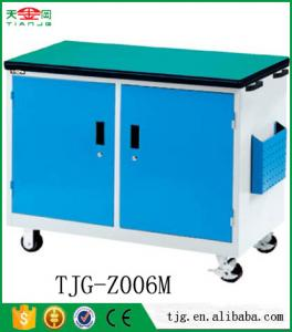China TJG-Z004M Cell Phone Repair Workstation Trolley Tool Box Cabinet on sale